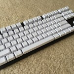 Varmilo VB87M Top Angle View